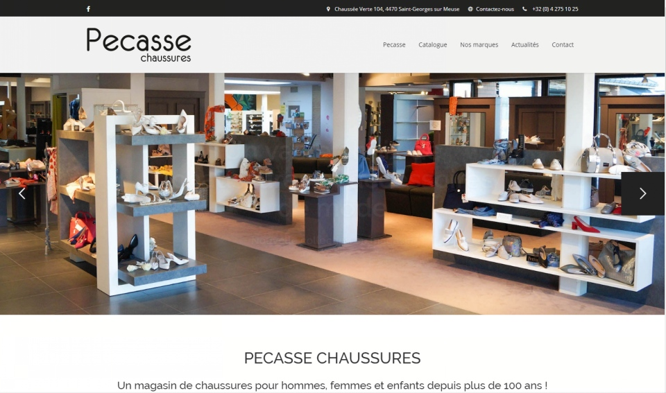 Pecasse - site catalogue